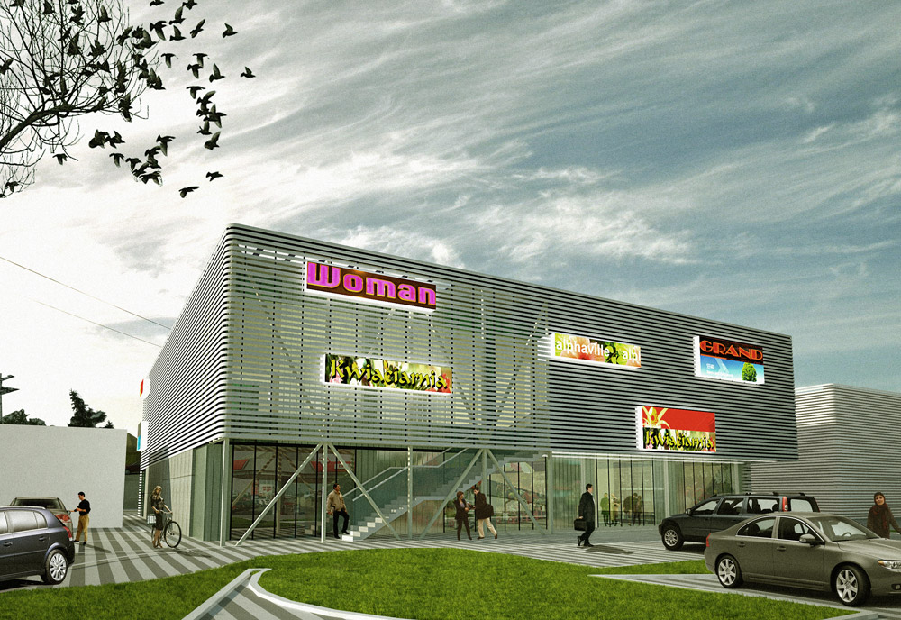 COMMERCIAL BUILDING IN TYCHY ZALEWSKI ARCHITECTURE GROUP
